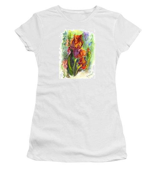 Orange Ice Women's T-Shirt (Junior Cut) by Carol Wisniewski