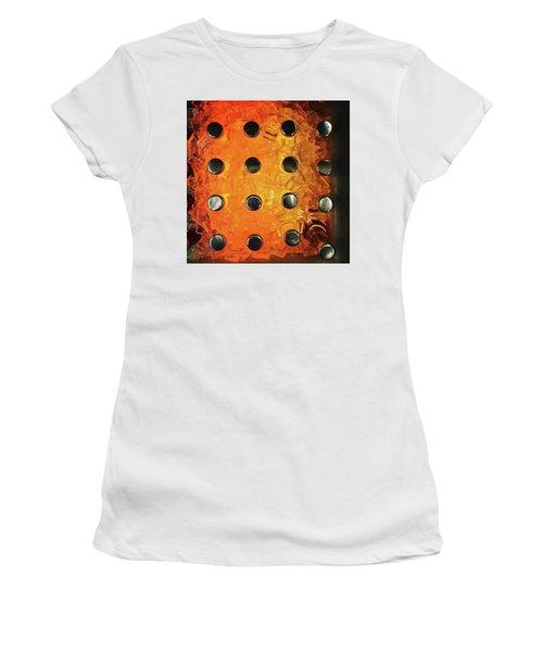Orange Pop! #orange #pop #sodapop Women's T-Shirt (Athletic Fit)