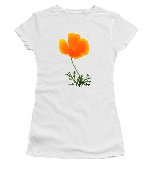 Orange Poppy Women's T-Shirt