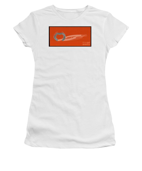 Orange Stair 46 And It Negative Shadow Women's T-Shirt