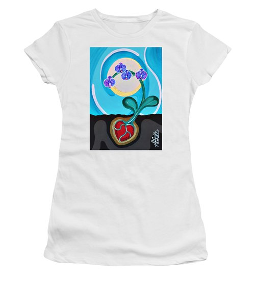 Orchids For My Love Women's T-Shirt