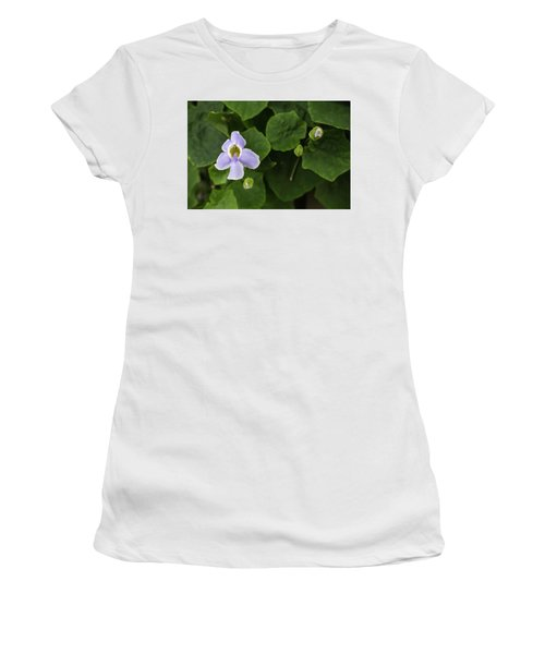 Women's T-Shirt (Junior Cut) featuring the photograph Orchids  by Jingjits Photography