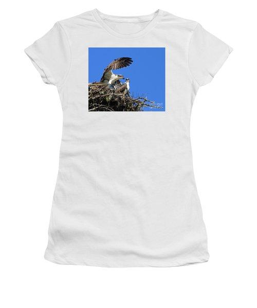 Osprey Chicks Ready To Fledge Women's T-Shirt