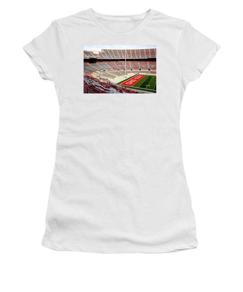 Osu Football Stadium Women's T-Shirt (Athletic Fit)