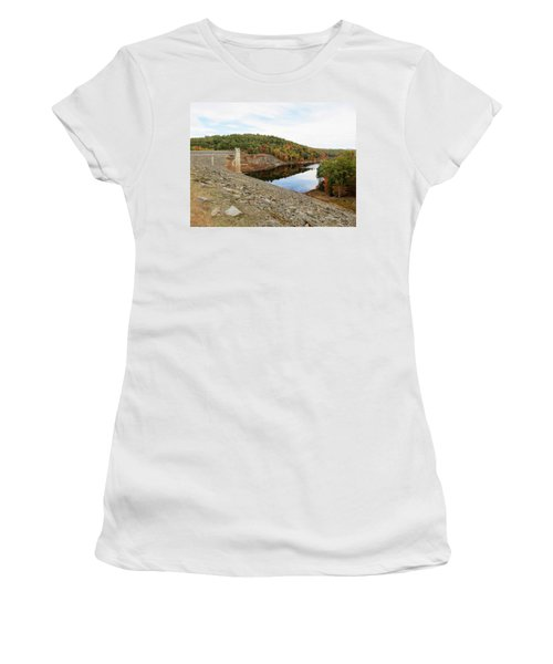 Otter Brook Dam In Autumn Women's T-Shirt
