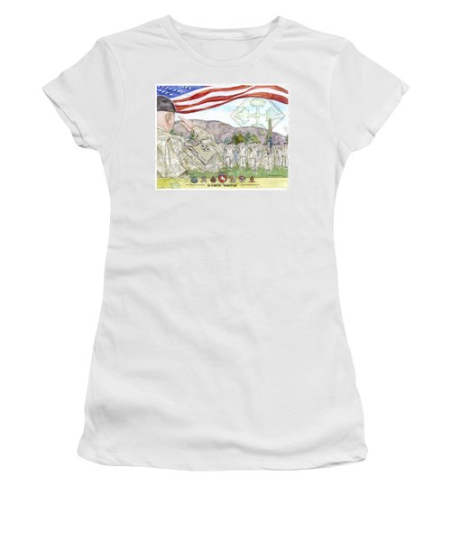 Our Credentials Steadfast And Loyal Women's T-Shirt