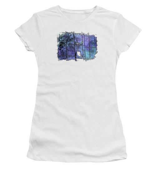 Our Father Berry Blues 3 Dimensional Women's T-Shirt
