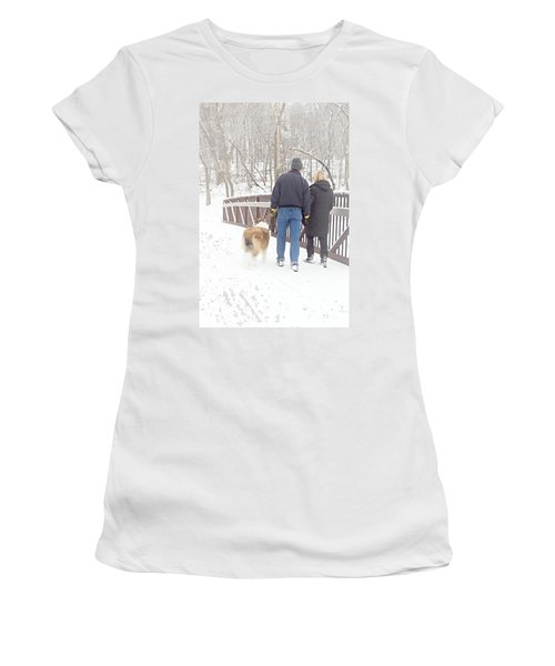 Our Love Will Keep Us Warm Women's T-Shirt