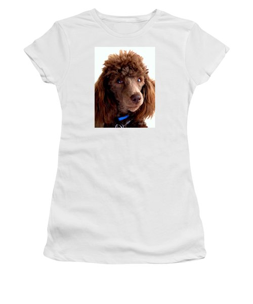 Our Muffin Portrait - 6-months Old Women's T-Shirt (Junior Cut) by Merton Allen