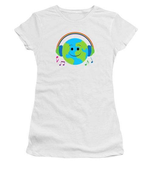 Our Musical World Women's T-Shirt (Athletic Fit)