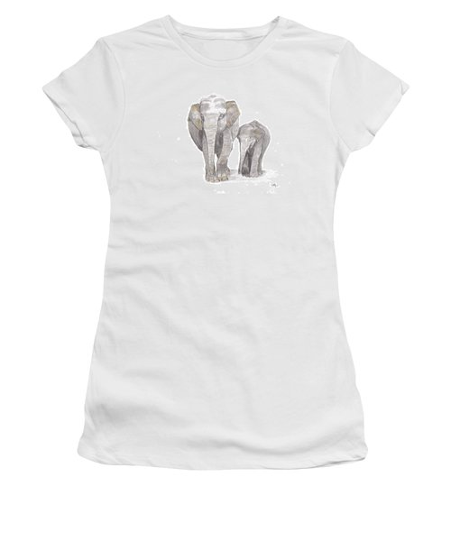 Out For  A Stroll Women's T-Shirt (Athletic Fit)