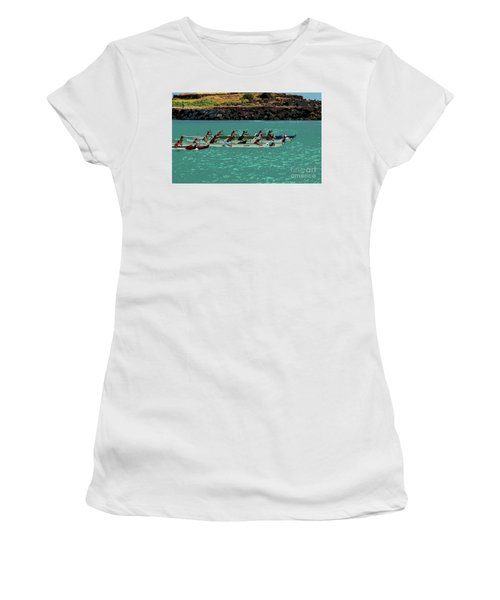 Outrigger Racing Women's T-Shirt (Athletic Fit)