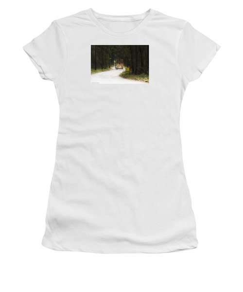 Women's T-Shirt (Junior Cut) featuring the photograph Over Size 01 by Kevin Chippindall