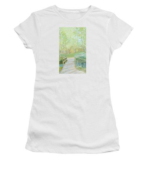 Over The Bridge Women's T-Shirt (Junior Cut) by Joanne Perkins