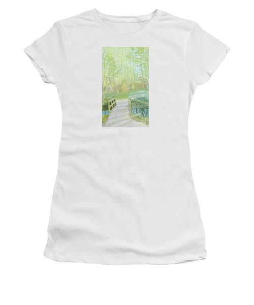 Over The Bridge Women's T-Shirt (Athletic Fit)