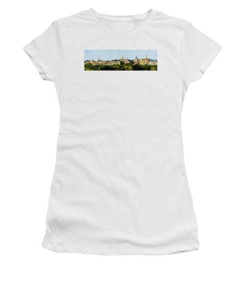 Oxford Spires Women's T-Shirt (Junior Cut) by Ken Brannen