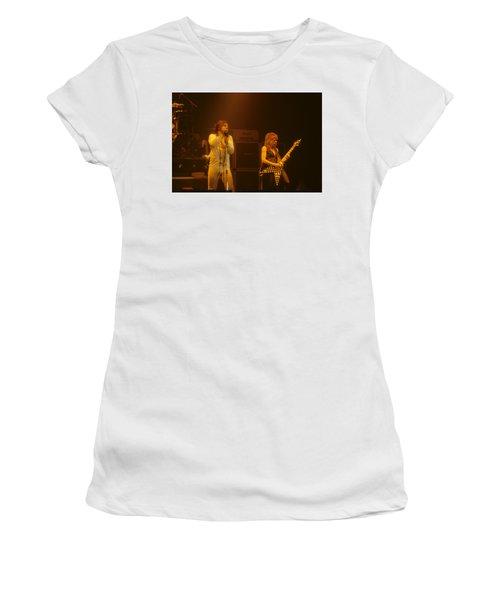 Ozzy Ozbourne And Randy Rhoads Women's T-Shirt