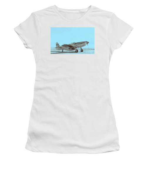 P51 Warmup Women's T-Shirt (Athletic Fit)