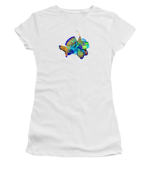 Pacific Mandarinfish Women's T-Shirt (Athletic Fit)