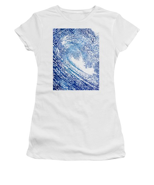 Pacific Waves Iv Women's T-Shirt