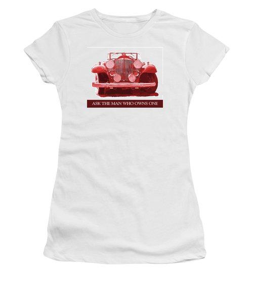 Packard Ask The Man Red Women's T-Shirt