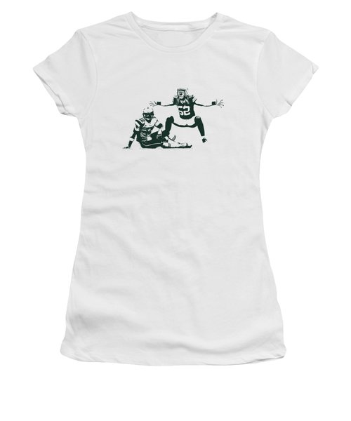 Packers Clay Matthews Sack Women's T-Shirt