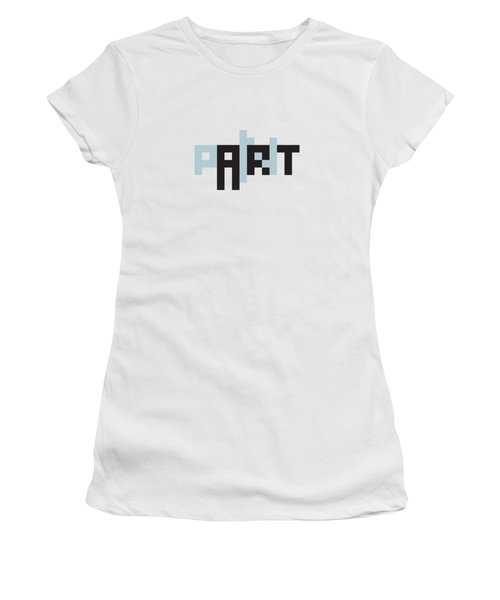 Pain In The Art Women's T-Shirt (Athletic Fit)