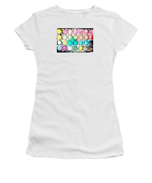 Paint Colors Women's T-Shirt (Athletic Fit)