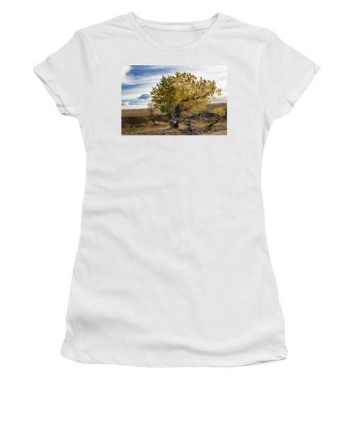 Painted By Nature Women's T-Shirt (Junior Cut) by Alana Thrower