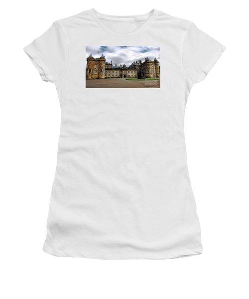 Palace Of Holyroodhouse  Women's T-Shirt (Junior Cut) by Judy Palkimas