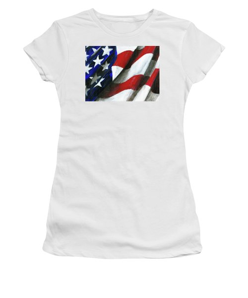 Palette Used To Paint Tn Heros Women's T-Shirt (Athletic Fit)