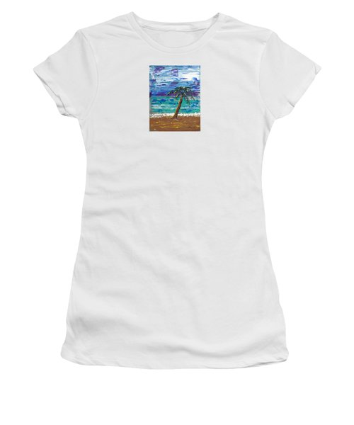 Palm Beach Women's T-Shirt (Athletic Fit)