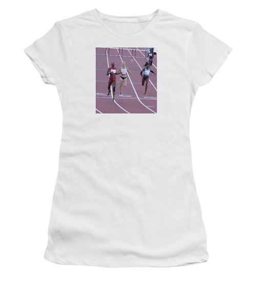 Pam Am Games. Athletics Women's T-Shirt (Athletic Fit)