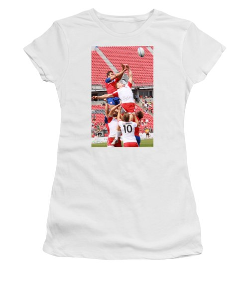 Pamam Games Men's Rugby 7's Women's T-Shirt (Athletic Fit)