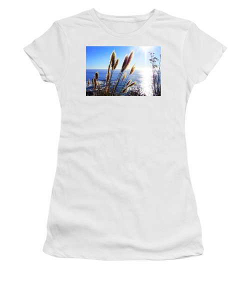 Pampas Grass And The Pacific 2 Women's T-Shirt (Junior Cut)