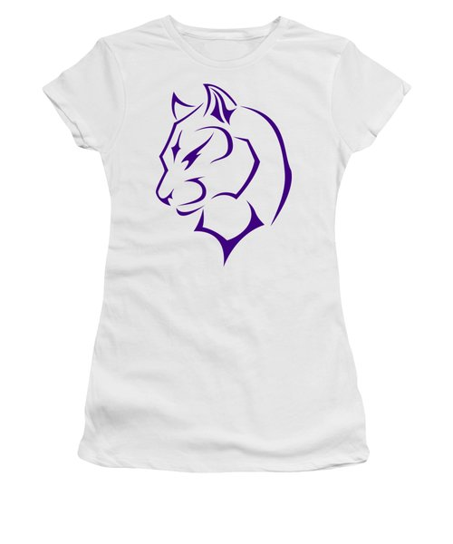 Panther Women's T-Shirt (Junior Cut) by Frederick Holiday