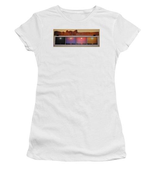 Paper Sun Women's T-Shirt (Junior Cut) by John Wartman