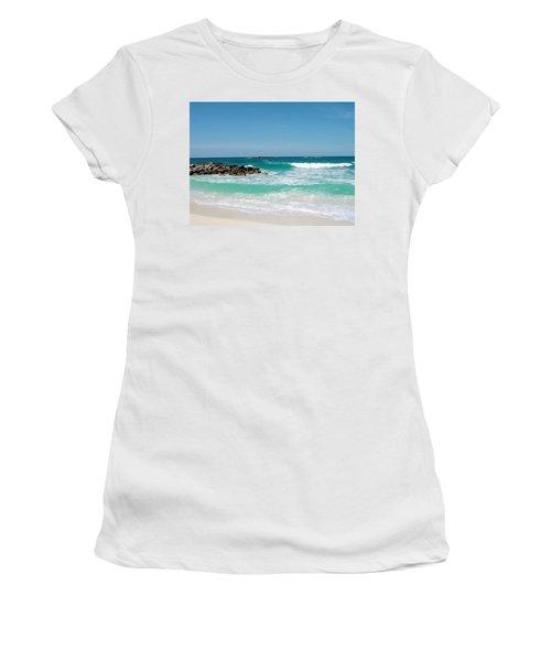 Paradise Island Women's T-Shirt (Athletic Fit)