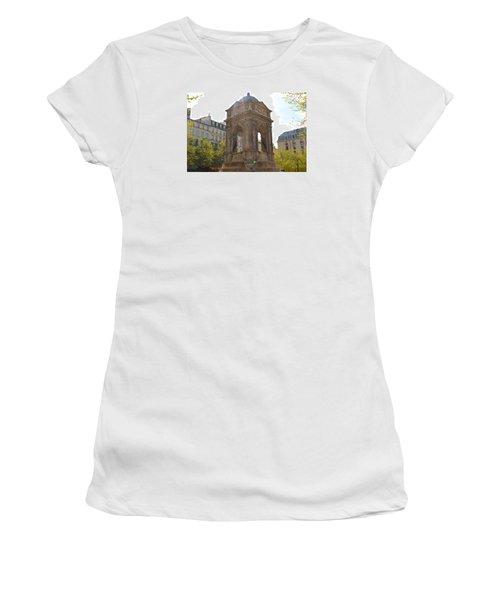 Paris Women's T-Shirt (Junior Cut) by Kaitlin McQueen