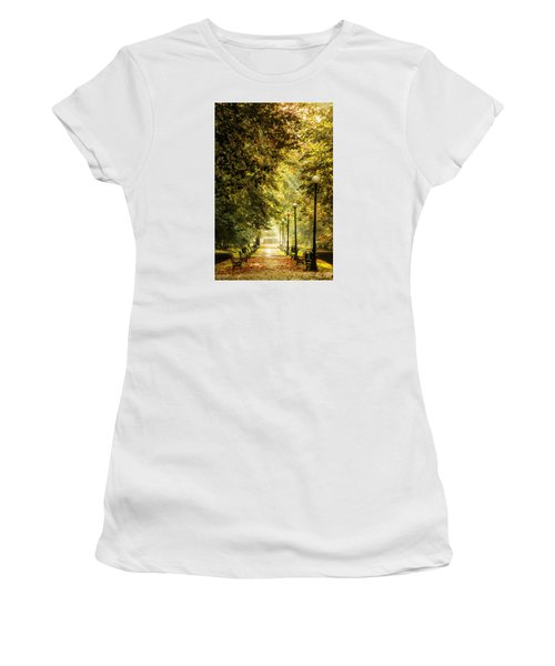 Park Lane Women's T-Shirt (Junior Cut) by Jaroslaw Grudzinski