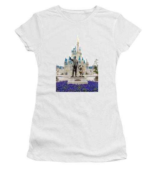 Partners Women's T-Shirt (Junior Cut) by Greg Fortier