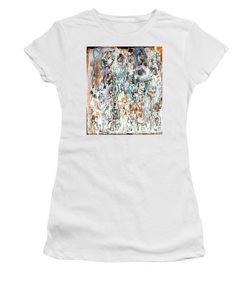 Past Life Trauma Inverted Women's T-Shirt