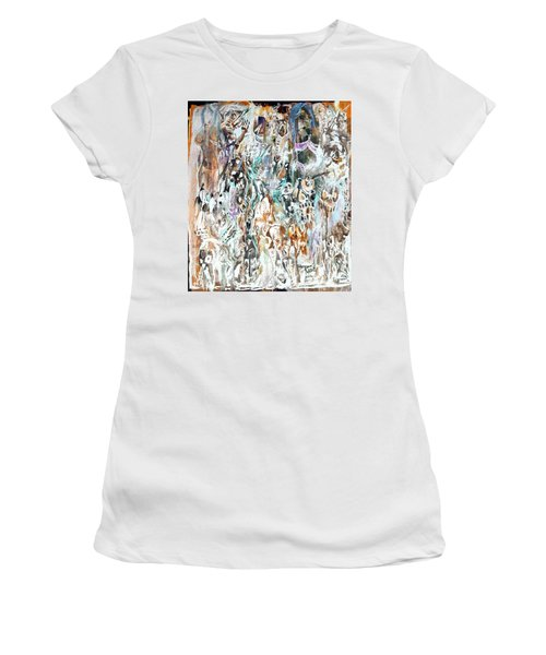 Past Life Trauma Inverted Women's T-Shirt (Athletic Fit)