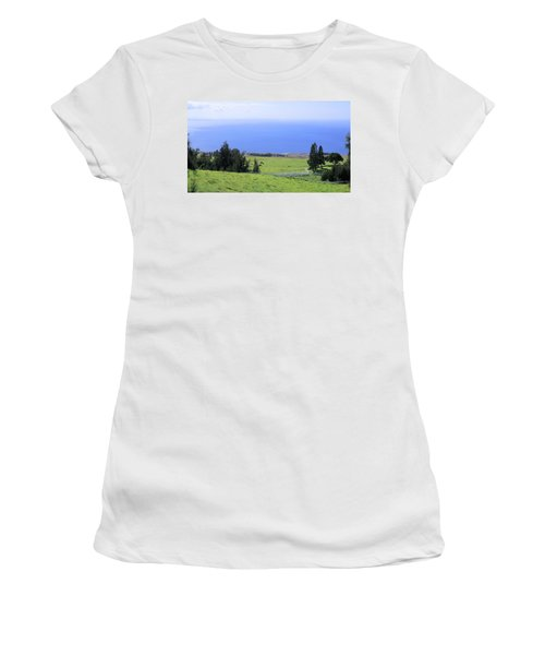 Pasture By The Ocean Women's T-Shirt