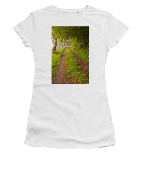 Path From Bullock Lake Women's T-Shirt