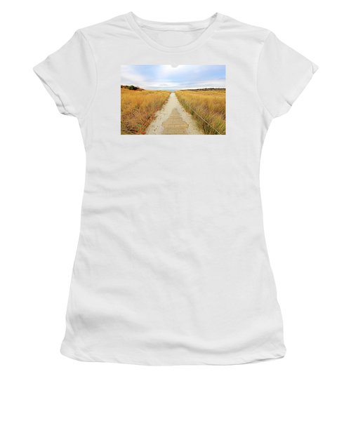 Path To The Beach Women's T-Shirt