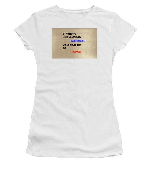 Peace #2 Women's T-Shirt