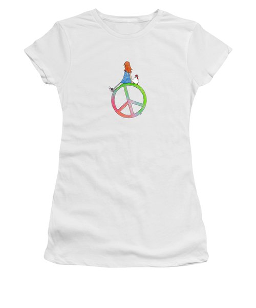 Peace And Hope Women's T-Shirt