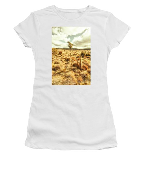 Peaceful Country Plains Women's T-Shirt