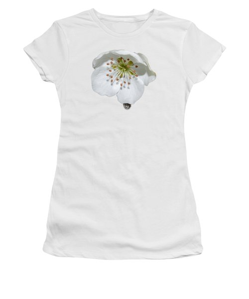 Pear Bloom Tee Shirt Women's T-Shirt (Athletic Fit)